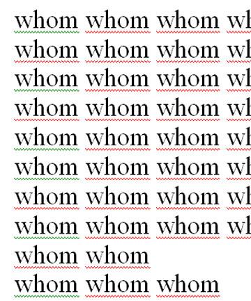 whom whom