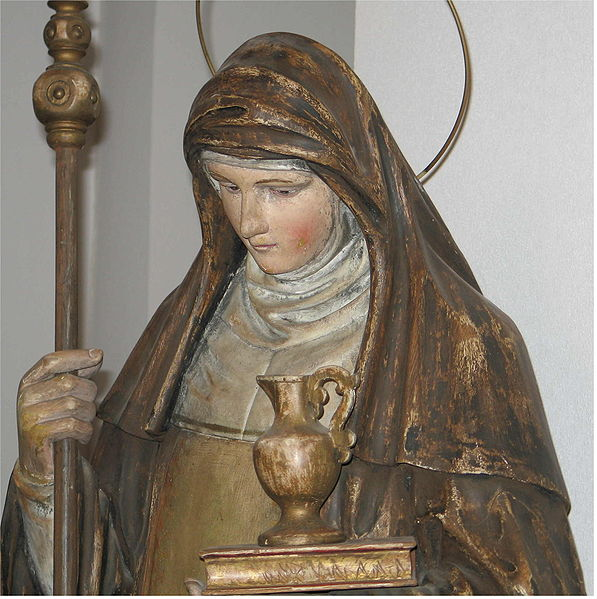 statue of Saint Walburga