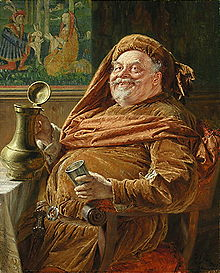Shakespeares Falstaff departed this world, at the turning of the tide.