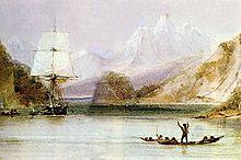 Darwins ship H.M.S. Beagle