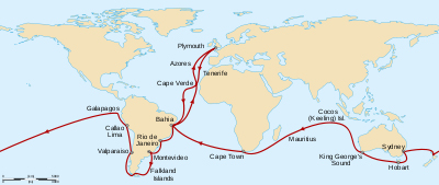 The Voyage of the Beagle, 1831-1836