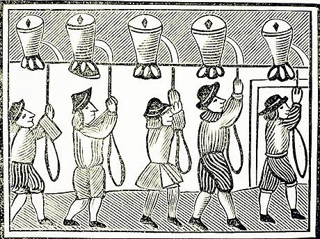 17th century English bell ringers