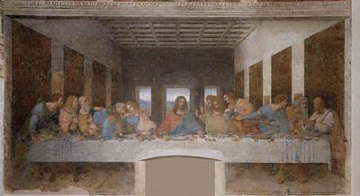 DaVincis fresco of The Last Supper