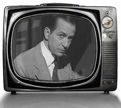 David Strathairn as Edward Murrow in Good Night and Good Luck