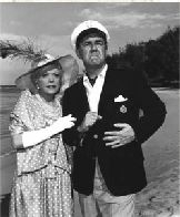 Mr. and Mrs. Howells in Gilligans Island spoke with what was perceived as the haughty accents of the wealthy.