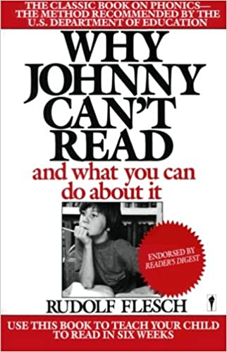 Cover, Why Johnny Can't Read